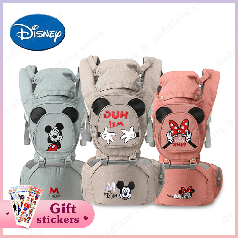 Disney Baby Carrier Infant Baby Hipseat Waist Stool Newborn Infant Baby Sling Front Facing Kangaroo Baby Wrap Carrier 0-18 Month