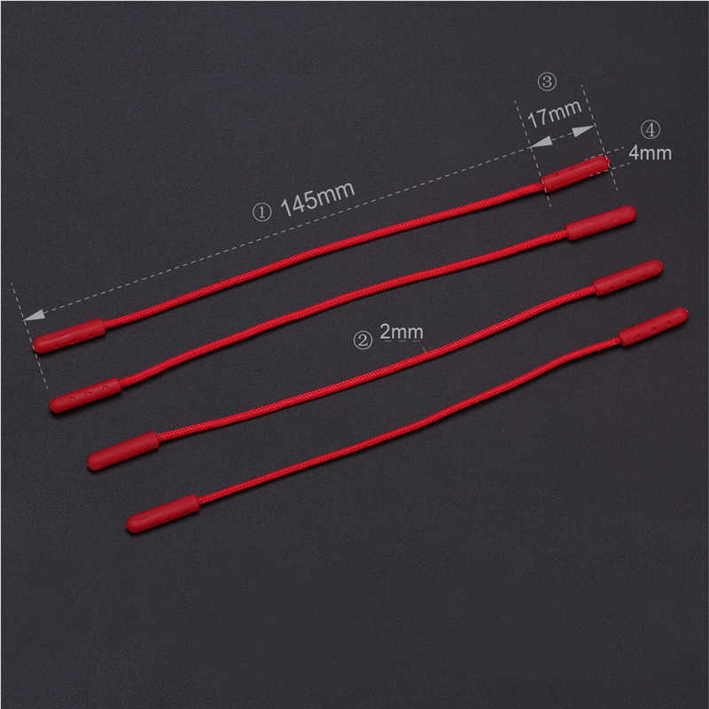 500pcs Zipper ดึง Puller End Fit เชือก: Fixer สายซิป Tab เปลี่ยนคลิปหักสำหรับเย็บเสื้อผ้ากระเป๋าเดินทาง