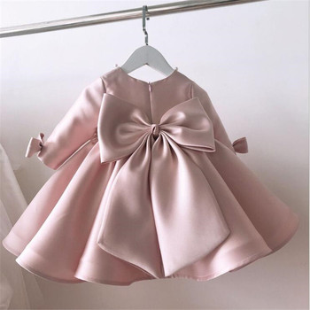 Girls Dress Wedding Party Princess 1St Birthday Baby Dress For Girl Lace Kids Dresses For Girls Ball Gown Toddler Tulle Dress new baby princess flower girl dress lace appliques wedding prom ball gown pink birthday communion toddler kids tutu dress