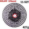 BOLANY MTB 12 Скоростей 11-52t кассета 365g Сверхлегкий велосипед свободного хода 12t Запчасти для велосипеда горный для SRAM XD hub SUNSHINE