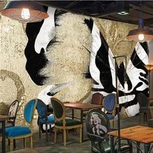 Mural Wallpaper Home Improvement Abstract-Art Customize Retro Modern Fashion Background
