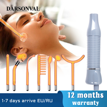 DARSONVAL Apparatus High Frequency Facial Machine Face Massager Neon Remove Wrinkles Acne Tool Skin Care D'arsonval For Hair 1
