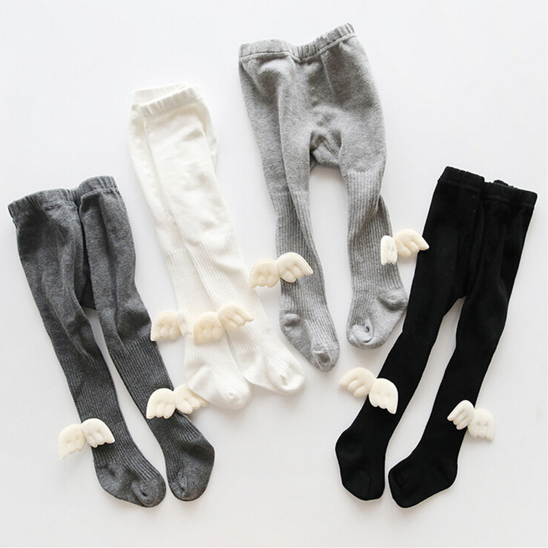 Baby Kids Girl's Winter Warm Soft Cotton Tights Stockings Fashionable Cute Princess Pantyhose Suitable For 0-6 Years Old