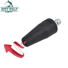 Rotating Dirt Blaster Turbo Nozzle with 1/4
