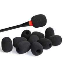 5 шт гарнитура Замена пенный (мягкий) микрофон чехол телефонный