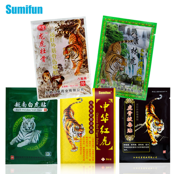 Sumifun Tiger Balm Medical Plaster Ointment For Joint Arthritic Body Pain Relieving Pain Relief Patch Far-infrared Health Care 50pcs vietnam red tiger plaster plaster muscle pain firming shoulder pain relief patch relief health care massage relaxation