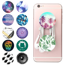 Popsocet Original Pattern Summer попсокет for Phones Pops Ring Desk Stand pocket socket Support Phone Holder Grip Car Mount(China)