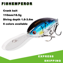 1pcs Fishing Lure 11cm 18.5g Long tongue Minnow Artificial Hard Bait Crankbait Wobblers Peche Bass Trolling Pesca Carp Fishing 1pcs wobbler fishing lures15 5cm 16g artificial hard bait minnow crankbait swim bass trolling pike carp fishing tackle fish bait