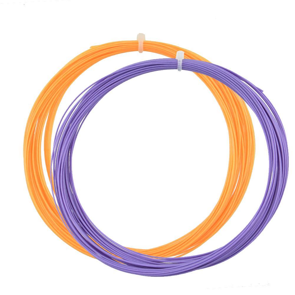 Badminton Racket String Replacement 0.75mm Gauge 10M Fibre Nylon Useful