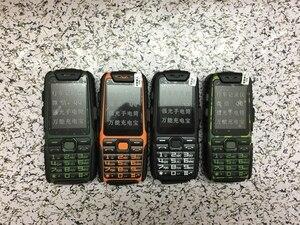 "Image 5 - WaterProof GuoPhone A6 Rugged Power Bank Phone With 2.4"" Shockproof 0.3MP Loud Speaker Flashlight Dual SIM Senior Outdoor Phone"