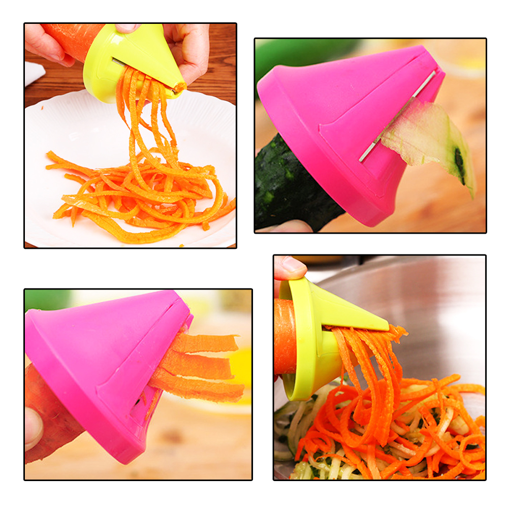 1pc Vegetable Fruit Slicer Cutter Stainless Steel Potato Carrot Radish Cutter Kitchen Tool Accessories