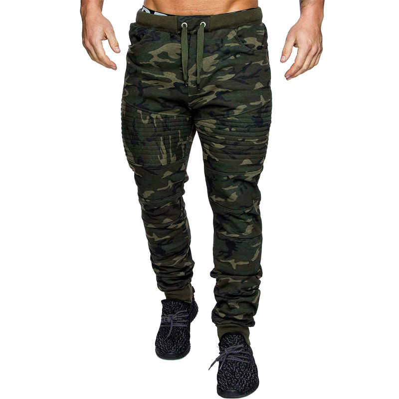 Plus Size Men Long Pants Hot Sale Men's Military Army Sweat Pants Casual Camo Work Outdoor Zip Fly Cargo Pants Cool Pants