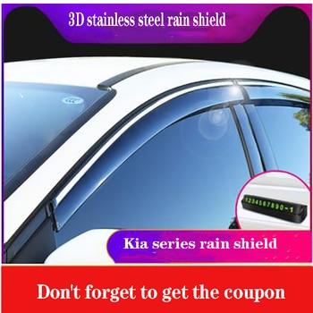 decorate the special rain visor rain cover window rain eyebrowApply only for 2015 to 2019 Kia Sorento L
