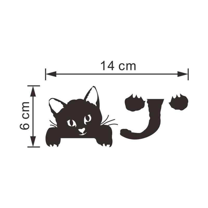 Lucu Kucing Anjing Switch Stiker Dinding Kartun Bercahaya Switch Stiker Glow Dalam Gelap Dinding Rumah Kamar Tidur Ruang Tamu Dekorasi