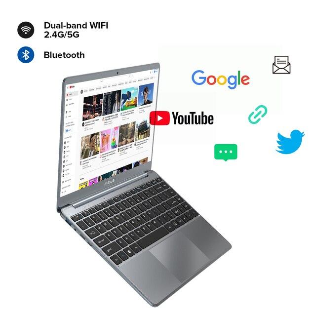Teclast F7 Plus 2 14.1 Inch Laptop 8GB RAM 256GB SSD Windows 10 Intel Celeron N4120 Intel UHD Graphics 600 Mini-HDMI Notebook 6