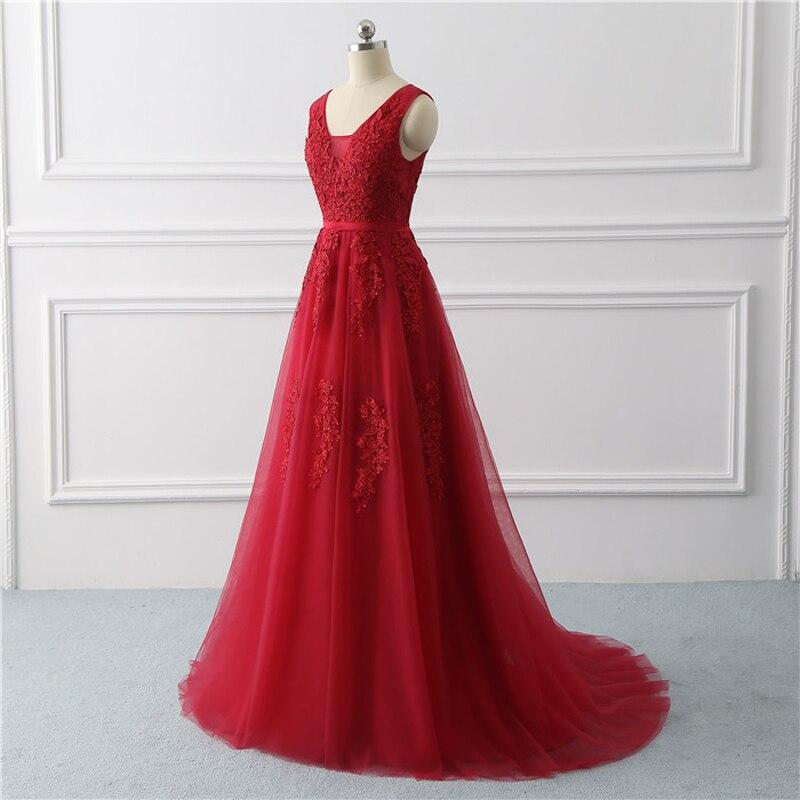 Royal blue Evening Dress plus size Long 2020 A Line Formal Party dresses appliques lace prom gown dress bridal Vestido De noiva 2