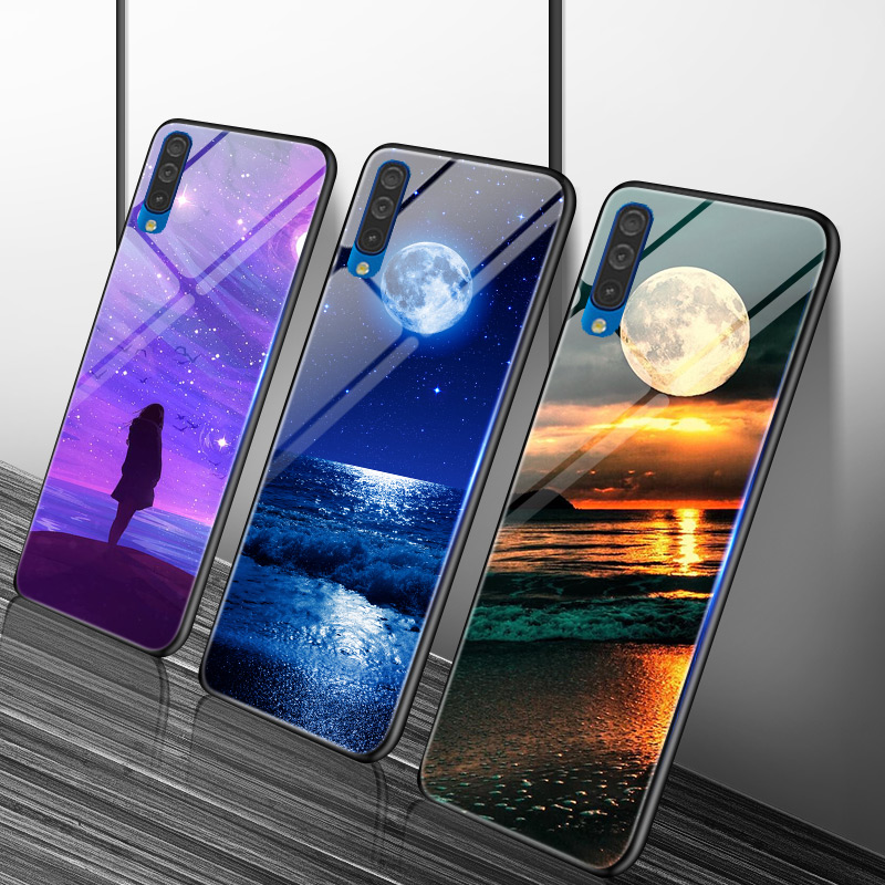For Samsung Galaxy A21S Case Glossy Cover For Samsung A10S A30S A50S A01 A21 A31 A41 A20 A30 A40 A50 A70 A10 A51 A71 Cases