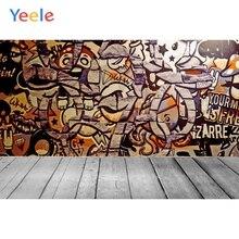 Yeele Photozone for Baby Grunge Brick Wall Old Graffiti Photography Backgrounds Photographic Backdrops Photo Studio Shoot Props