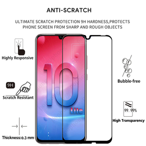 Image 2 - Screen Protector Tempered Glass Full Cover For Huawei Honor 10 Lite On Scratch Proof Protective Case Film For Honor10 Lite Glass