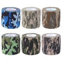 Camouflage Outdoor Stealth Hunting Riding Bicycle Cork Handlebar Tape Wrap Cycling Handle Adhesive Tape for Camera Bike etc(China)