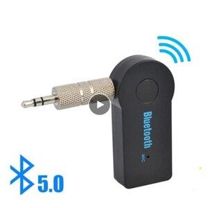 2 в 1 Bluetooth передатчик приемник беспроводной аудио 3,5 мм Aux адаптер стерео Рюкзак для автомобильной музыки аудио Aux ресивер гарнитура