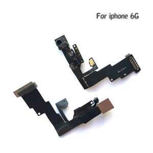 Image 2 - 10 sztuk dla iPhone 5 5g 5c 5s 6 6G 6s plus światła czujnik zbliżeniowy Flex Cable z przodu kamery mikrofon montaż