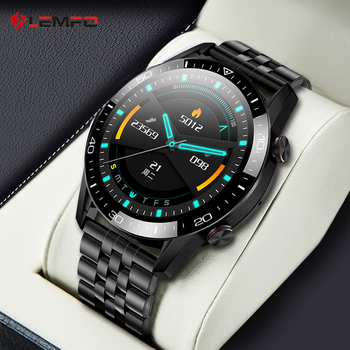 LEMFO 2021 Smart Watch Men ECG Bluetooth Call Blood Pressure Monitor Fitness IP68 Waterproof Smartwatch GT2 pk huawei watch gt 2 1