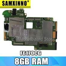 اللوحة الرئيسية لجهاز For Asus FonePad 7 FE170CG 8GB الكمبيوتر اللوحي اللوحة الأم الهاتف المحمول هو جديد تماما اللوحة الأم مستقرة