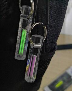 Image 5 - Автоматический светильник, газовая лампа Тритий, само светящееся кольцо для ключей, спасательный аварийный светильник s для безопасности на открытом воздухе и инструмент для выживания