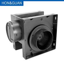 4 дюйма 110V рядный канальный вентилятор, выхлопной вытяжного вентилятора вентиляции и кондиционирования смешанного потока с низким энергопотреблением вентилятор для утяжки или тента для выращивания