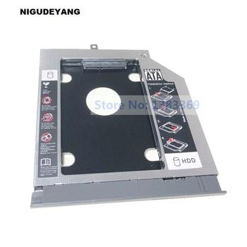 SATA 2nd dysk twardy ssd dysk twardy moduł Caddy adapter do lenovo ideapad 320 V320 320-14IAP 320-15IKB 320-17IKB V320-17IKB serii tanie i dobre opinie NoEnName_Null 2 5 Aluminium Esata 2nd Second Optical HDD SSD Caddy Stock