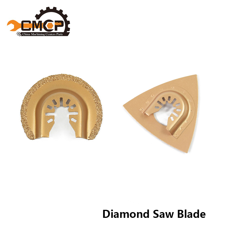 FAST SHIPPING 2pc Diamond & Carbide Oscillating Multi Tool Saw Blade Renovator Power Tools Accessories Safty-in Saw Blades from Tools