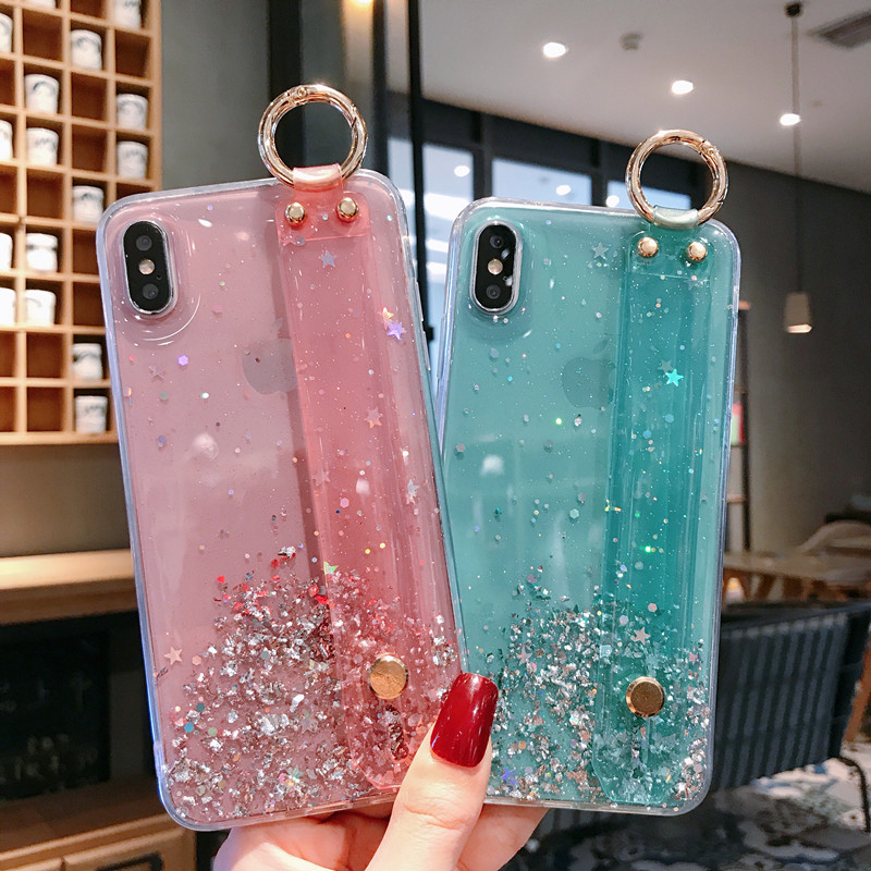 Glitter Bling <font><b>Case</b></font> For Xiaomi <font><b>Redmi</b></font> <font><b>Note</b></font> 8 Pro 8T 9s 7 7A K20 K30 <font><b>4X</b></font> 5A 7A Soft <font><b>TPU</b></font> Cover <font><b>Xiomi</b></font> Mi 10 9T 9 Lite A3 Phone <font><b>Cases</b></font> image