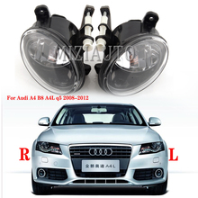 Front Led Mistlampen Voor Audi A4 B8 S4 A4L Q5 Allroad 2008 2009 2010 2011 2012 2013 2014 2015 auto Styling Mistlamp Led lampen