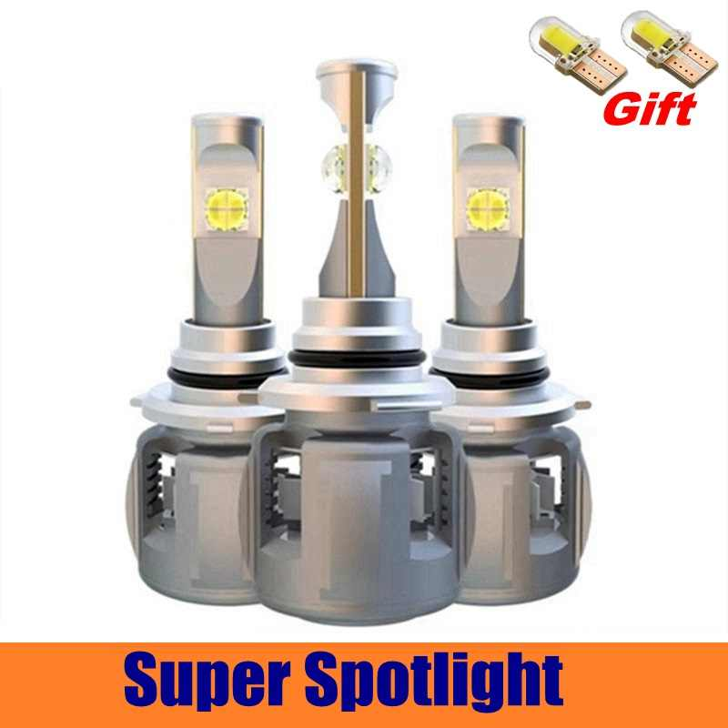 D1S D2S D3S D4S Car LED Headlight Bulbs H7 H4 H11 9005 9006 9012 HB3 HB4 H1 H8 H9 Automobiles Front Fog Light Lamp 12V 120W