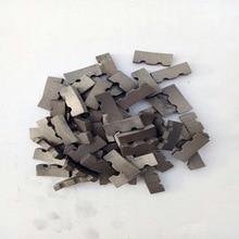 4 шт./компл. алмазные сегменты для использовать для ремонта 18-350 мм диаметр Алмаз влажные корончатых сверл сегментов Замена
