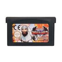 任天堂gbaビデオゲームカートリッジコンソールカードスーパー悪鬼 n幽霊英語euバージョン