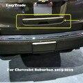 Автомобильный Стайлинг хромированная Задняя Крышка багажника Дверная ручка Крышка хвостовые ворота отделка ободок молдинг для Chevrolet Suburban ...