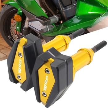 For Yamaha YZFR25 YZF R25 YZF-R25 CNC Aluminum Motorcycle Falling Protection Frame Slider Fairing Guard Crash Pad Protector