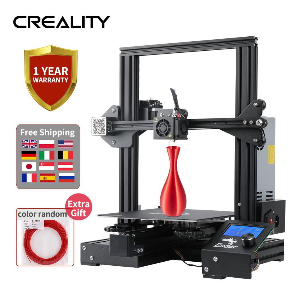 Diy-Kit 3d-Printer Build-Surface Magic Ender-3 CREALITY PRO with Brand Power-Supply 220--220--250mm title=