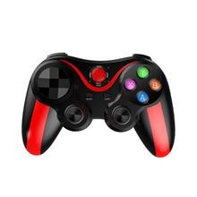 купить Wireless Bluetooth Gamepad Game Controller Smart Game pad Joystick Android Gaming Control for PC Phone Tablet Smartphone по цене 1103.97 рублей