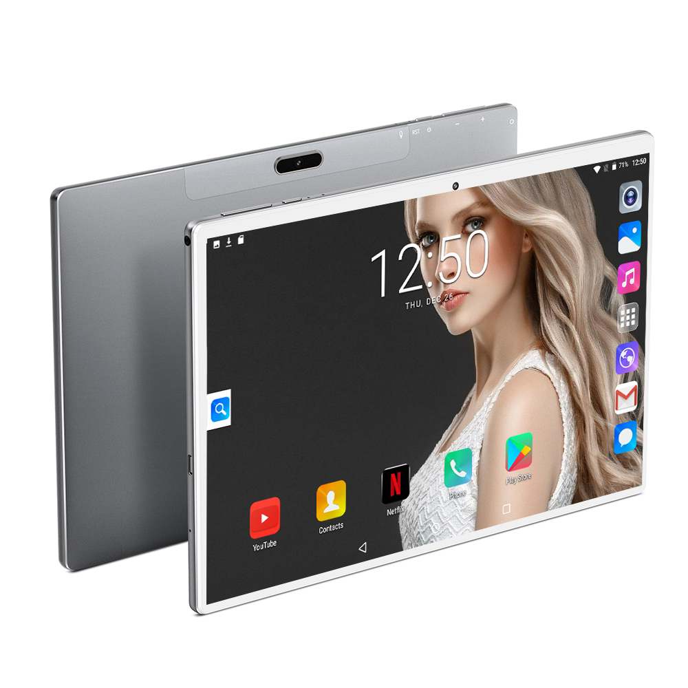 10inch Tablet Phone-Call Dual-Cameral 8000mah 10-Deca-Core android 4G LTE 256GB 1920--1200 title=