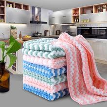 Kitchen-Towel Cotton Plush Cleaning-Tool Napkins Microfiber Better Than