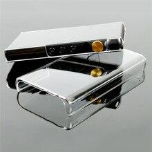 Disco de cristal claro caso protetor para ibasso dx160 mp3 player habitação capa casca pele peças reposição