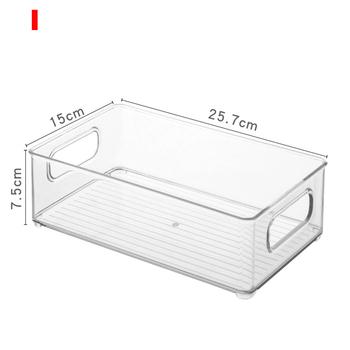Pojemniki na organizery lodówki pojemniki na lodówkę organizery schowek z uchwytami do szafek zamrażarki HYD88 tanie i dobre opinie CN (pochodzenie) Nowoczesne Z tworzywa sztucznego
