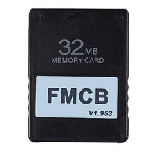 FMCB v1.953 Card Memory Card for PS2 Playstation 2 Free McBoot Card 8 16 32 64MB
