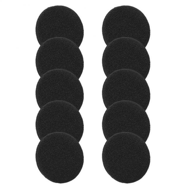 35MM 40MM 45MM 50MM 55MM 60MM 65MM Headphone Replacement Foam Pad Ear Pad Sponge Earplugs Headset Cap Earphone Accessories TXTB1