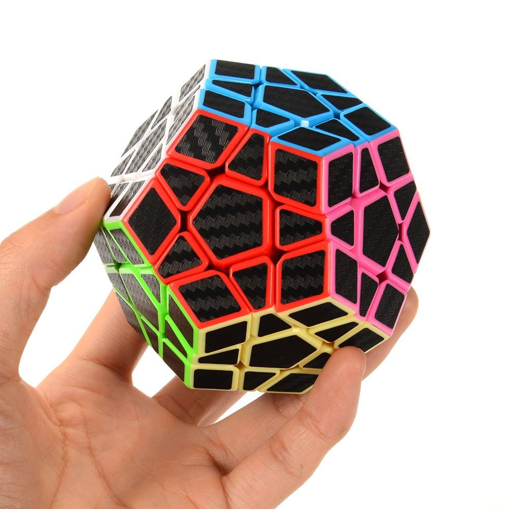 2019 Megaminx Magic Cube 3Layers Wumofang Speed Cube Professional Puzzle Toys For Children Kids Gift Early Childhood Fun Toys
