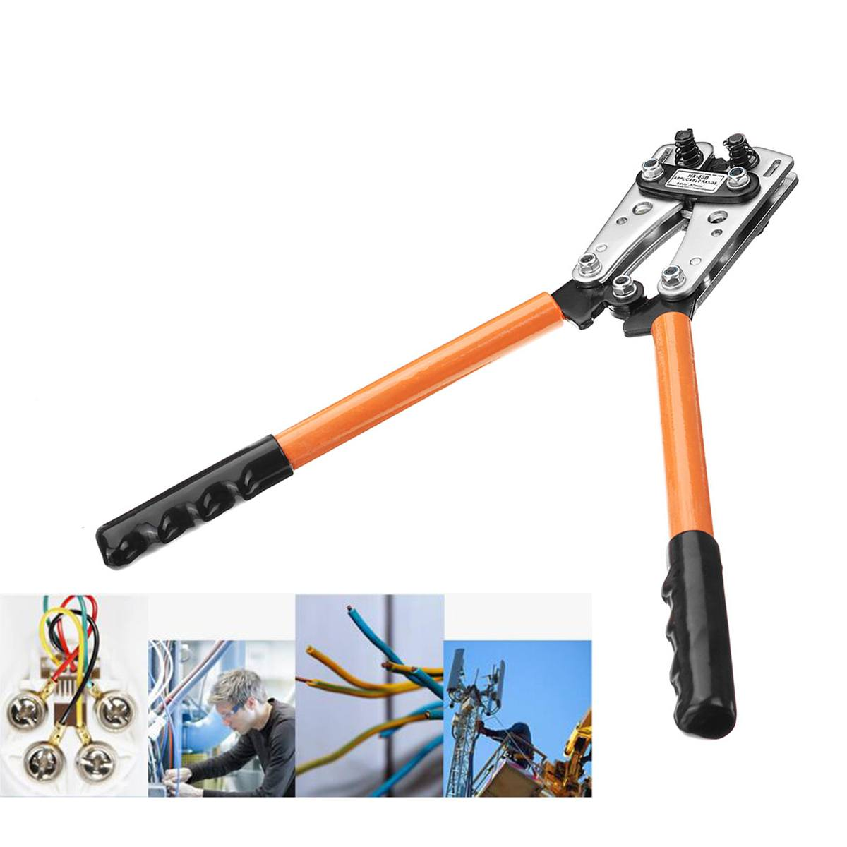 Tools Tool Hand Cable Plier Crimp Pliers Crimping Lugs Terminal Terminal Cable HX Hex Tube Battery Crimper 6 Tool 50mm 50B 2