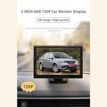 5 Inch Scherm Ahd 720P Auto Monitor Met High Definition Beeld Voor Auto Achteruitrijcamera Systeem